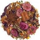 Doporučujeme / Čaj Zimní slunovrat / aromatizováno kandovaným granátovým jablíčkem