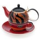 Příslušenství Keramický čajový set pro jednoho SARABI
