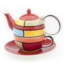 Doporučujeme / Příslušenství Keramický čajový set pro jednoho JANTI